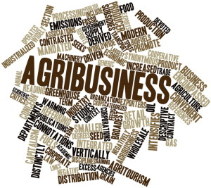 Word cloud for Agribusiness